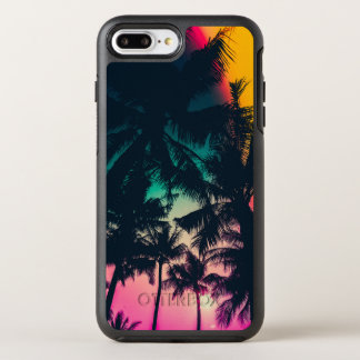 Colorful Palm Trees Silhouette | Phone Case