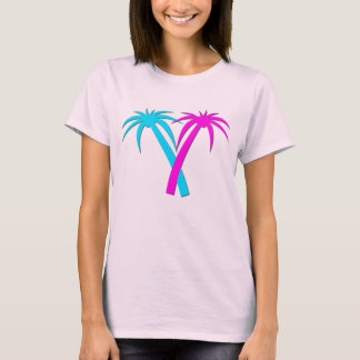Colorful Palm Trees T-Shirt