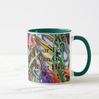 Colorful Paperclips Mug