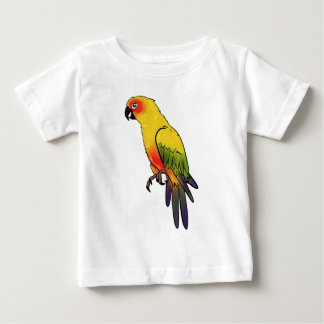 Colorful Parrot Baby T-Shirt