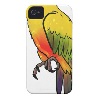 Colorful Parrot iPhone 4 Case