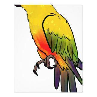 Colorful Parrot Letterhead