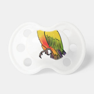 Colorful Parrot Pacifier