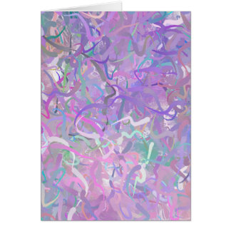 Colorful Pastel Card