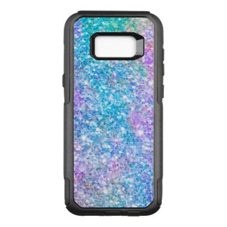 Colorful Pastel Colors Glitter GR2 OtterBox Commuter Samsung Galaxy S8+ Case