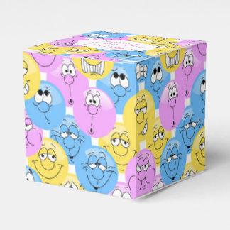 Colorful Pastel Emoji Design Favor Box