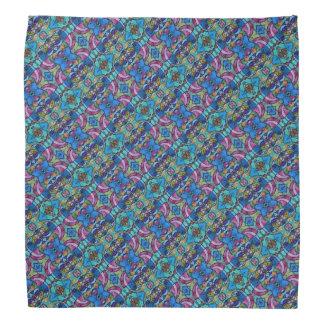 Colorful Pastel Patterned Head Kerchiefs