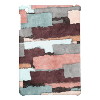 Colorful Patches Abstract iPad Mini Cases
