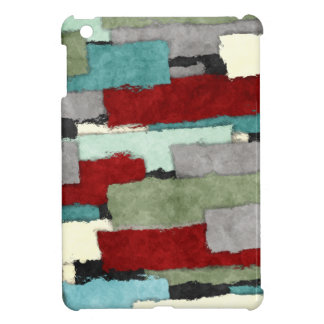 Colorful Patches Abstract iPad Mini Covers