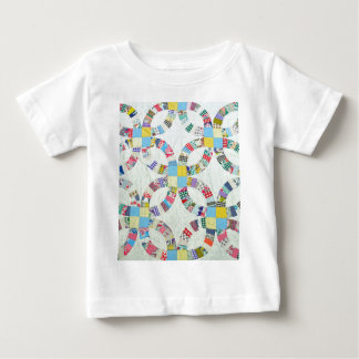 Colorful patchwork quilt baby T-Shirt