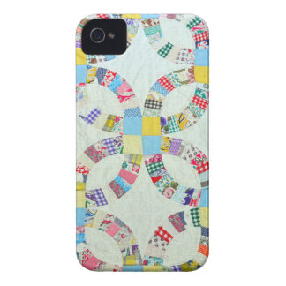 Colorful patchwork quilt Case-Mate iPhone 4 cases