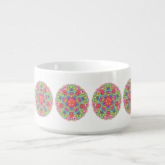 Colorful Pattern Chili Bowl