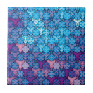 """Colorful Pattern Creation """"Love at First Night"""" Tiles"""