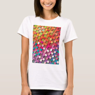 """Colorful Pattern Creation """"My Milano"""" T-Shirt"""