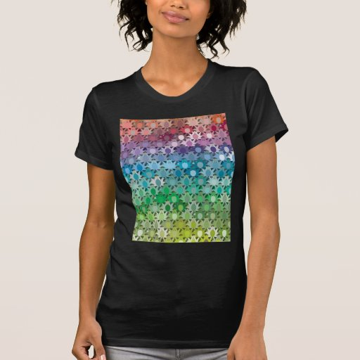 "Colorful Pattern Creation ""Tropicana"" Tee Shirt"