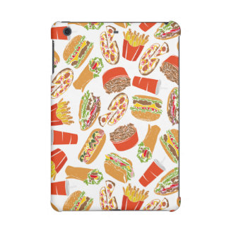 Colorful Pattern Illustration Fast Food iPad Mini Retina Cases