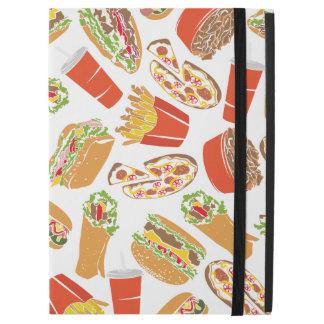 "Colorful Pattern Illustration Fast Food iPad Pro 12.9"" Case"