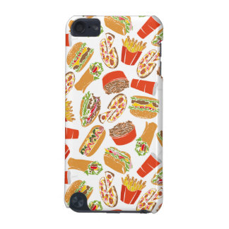 Colorful Pattern Illustration Fast Food iPod Touch (5th Generation) Cover