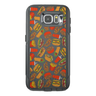 Colorful Pattern Illustration Fast Food OtterBox Samsung Galaxy S6 Case