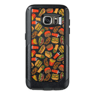 Colorful Pattern Illustration Fast Food OtterBox Samsung Galaxy S7 Case