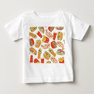 Colorful Pattern illustration nearly Food Baby T-Shirt