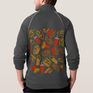 Colorful Pattern illustration nearly Food Jacket