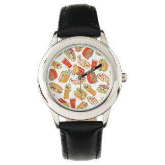 Colorful Pattern illustration nearly Food Watch