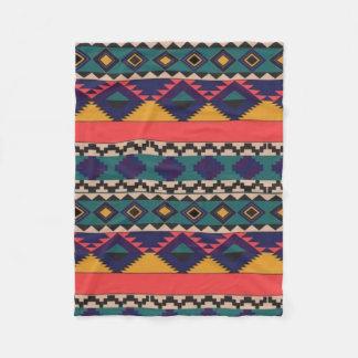 Colorful Pattern of Love Fleece Blanket