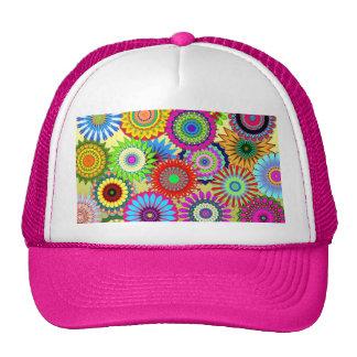 Colorful Patterns Kaleidoscopes Mosaics Trucker Hat