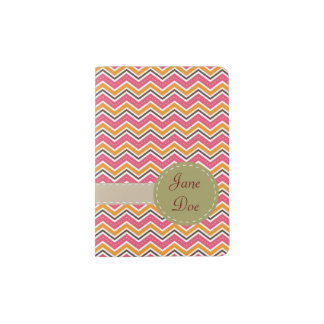 colorful patterns passport holder