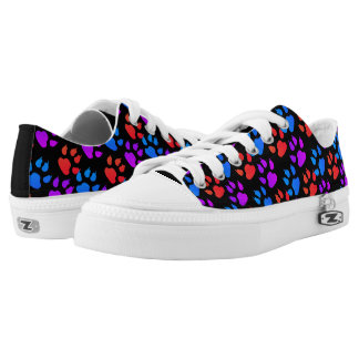 Colorful Paws and Claws Kicks Low-Top Sneakers
