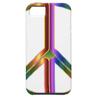 Colorful Peace Sign iPhone 5 Covers