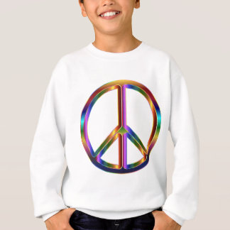Colorful Peace Sign Sweatshirt