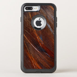 Colorful Peacock Feather in Detail OtterBox Commuter iPhone 8 Plus/7 Plus Case