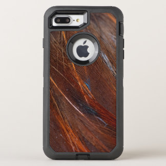 Colorful Peacock Feather in Detail OtterBox Defender iPhone 8 Plus/7 Plus Case