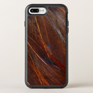 Colorful Peacock Feather in Detail OtterBox Symmetry iPhone 8 Plus/7 Plus Case