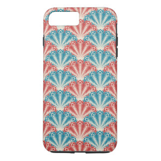 Colorful Peacock Feathers iPhone 8 Plus/7 Plus Case