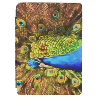 Colorful Peacock iPad Air Cover