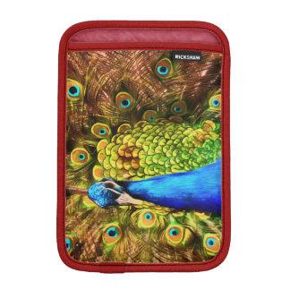 Colorful Peacock iPad Mini Sleeve