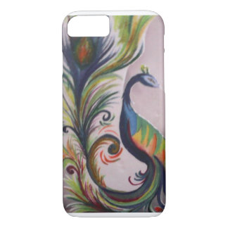 Colorful Peacock iPhone 7/6 Barely There case
