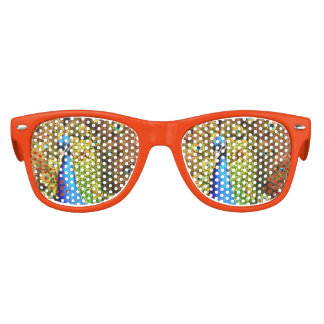 Colorful Peacock Kids Sunglasses