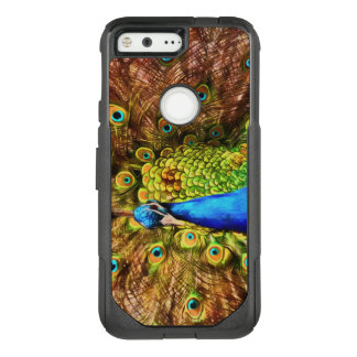 Colorful Peacock OtterBox Commuter Google Pixel Case