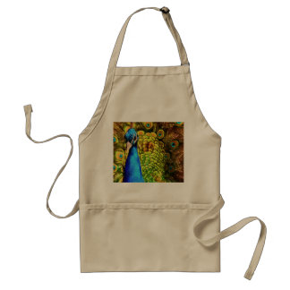 Colorful Peacock Standard Apron