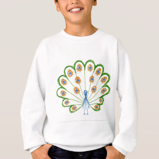 Colorful Peacock Sweatshirt