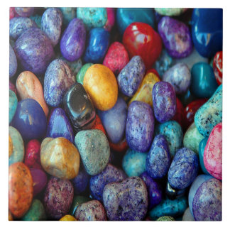 Colorful Pebbles and Stone Ceramic Tile