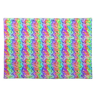 Colorful Pen and Watercolor Placemats