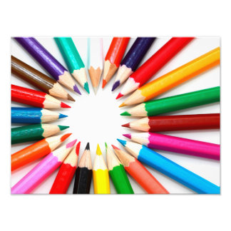 Colorful Pencils Photo Art