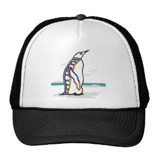 Colorful Penguin Trucker Hat