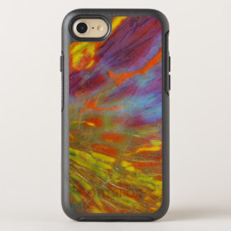 Colorful Petrified Wood close-up OtterBox Symmetry iPhone 7 Case