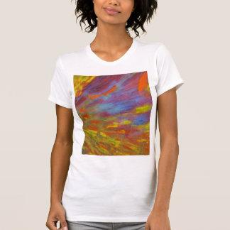 Colorful Petrified Wood close-up T-Shirt